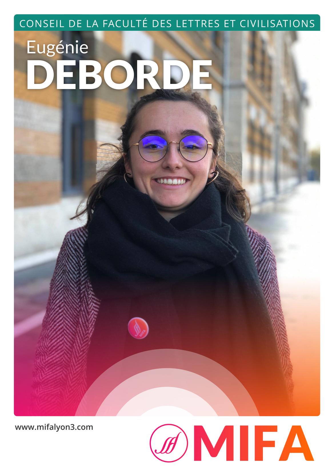 Eugénie DEBORDE