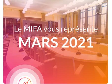 Le MIFA au rapport - Mars 2021
