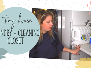 Laundry + Cleaning Closet