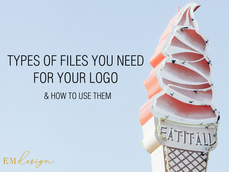 What File Types Do I Need For My Logo & What Do I Do With Them?