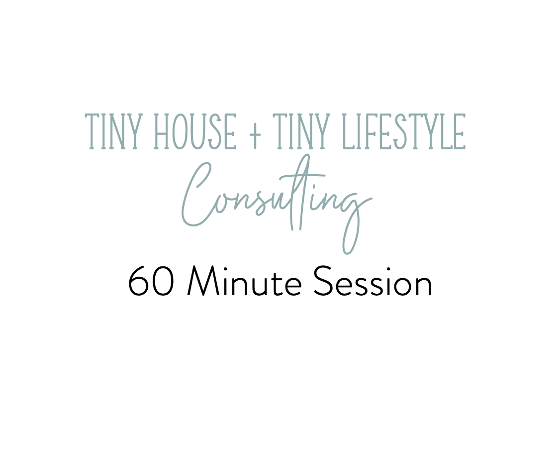 60 Minute Tiny4Life Consulting