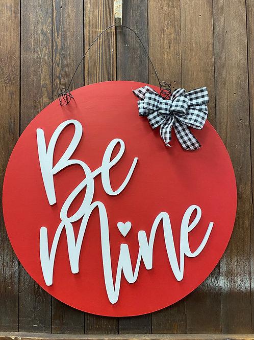 Be Mine Valentine Door Charm