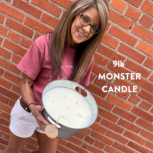 Monster 9lb Candle