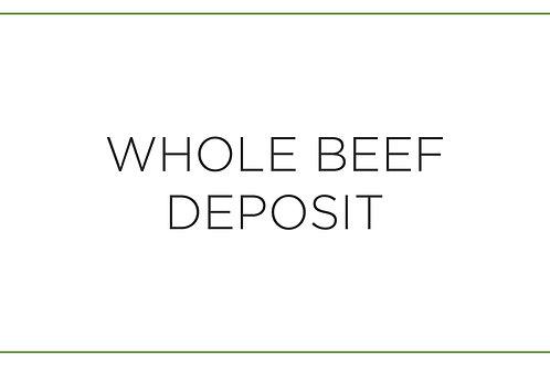 Whole Beef Deposit