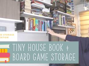 Storage + Organization: Book Storage in the Living Room