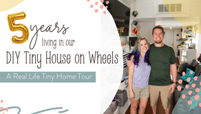 Celebrating 5 Years In Our Tiny House (& 500 Followers!)