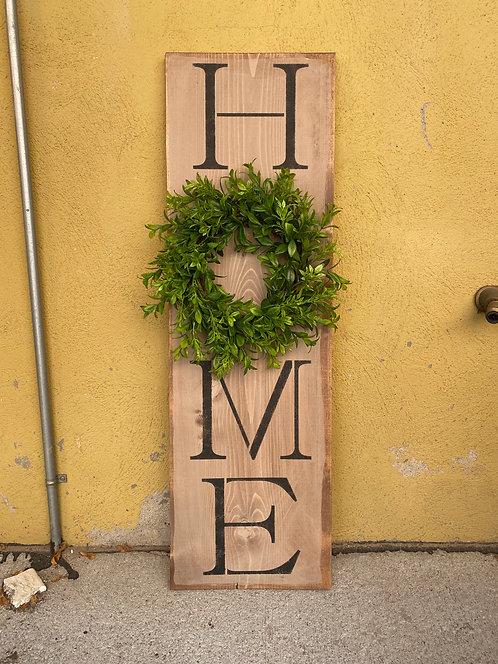 Home Wreath Porch Board