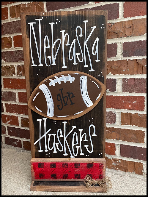 GBR Officially Licensed Husker Football Porch Board