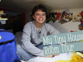 Keegan's Tiny House Teenage Room Tour Storage + Organization