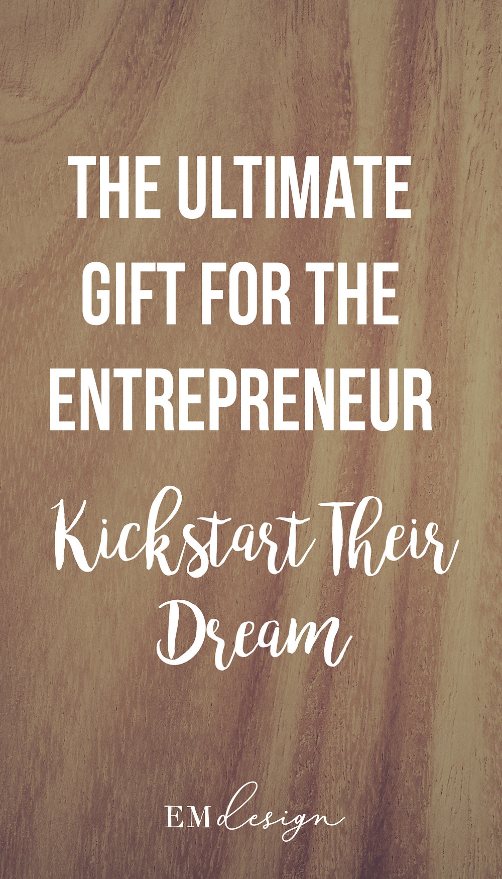 The ultimate gift for the entrepreneur - logo design