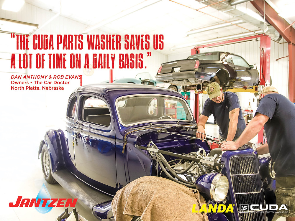 Cuda Parts Washer at the Car Doctor North Platte, Nebraska