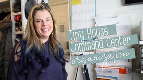 Tiny House Command Center: Storage + Organization