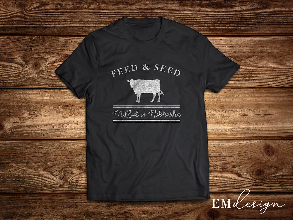 EmDesign T Shirt design for the Rustic Patch Feed and Seed