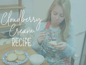 Fancy Food Friday: Emme's Two Ingredient Cloudberry Cream