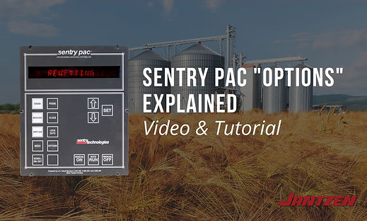 Sentry PAC Grain Storage System Options