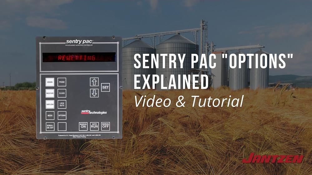 Sentry PAC Grain Storage System Modes Explained by  Jantzen Equipment