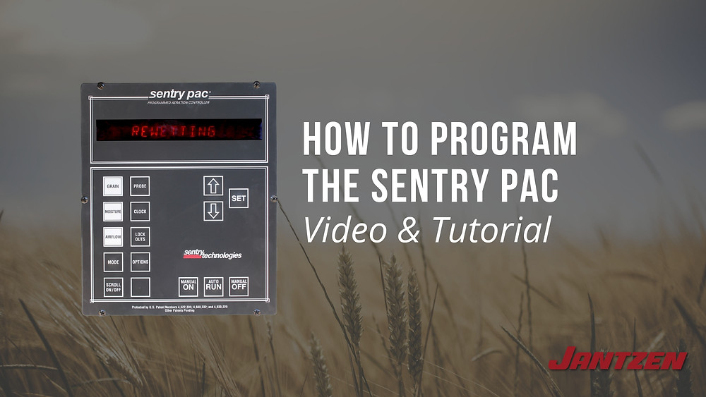 How to Program the Sentry PAC Grain Storage System from Jantzen Equipment