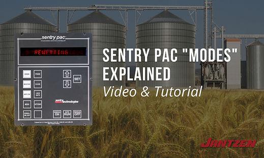 Sentry PAC Grain Storage System Modes Ex