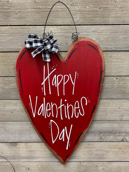 Happy Valentines Day Door Charm