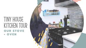 Tiny Kitchen, Oven, + Stove