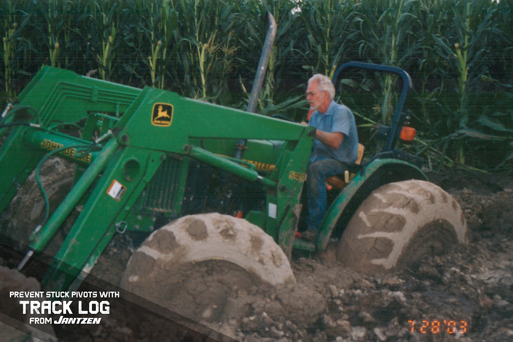 Prevent Stuck Pivots and Reduce Pivot Tracks for only a few dollars per acre with Track Log from Jantzen Equipment