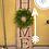 Thumbnail: Home Wreath Porch Board