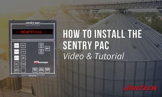 How to Install the SentryPAC Jantzen Equ