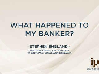 What Happened To My Banker