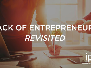 Lack of Entrepreneurs Revisited