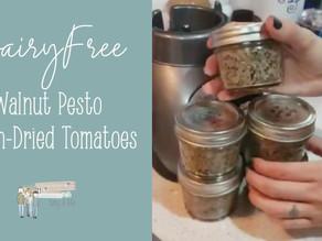 Dairy Free Walnut Pesto