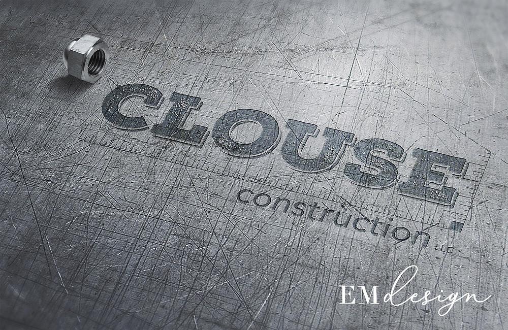 A construction company logo.