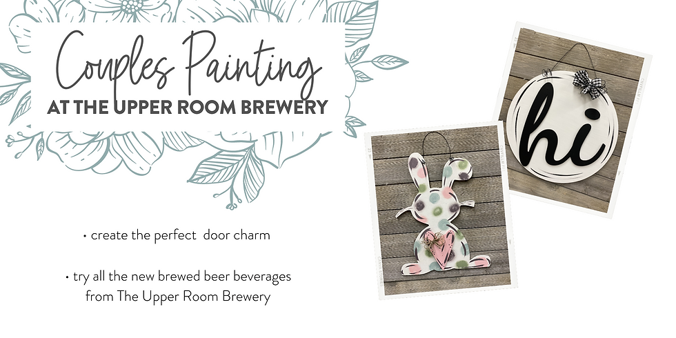 Couples' Painting Event At the Upper Room Brewery