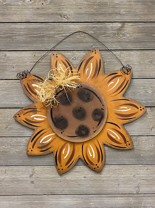 Sunflower Door Charm