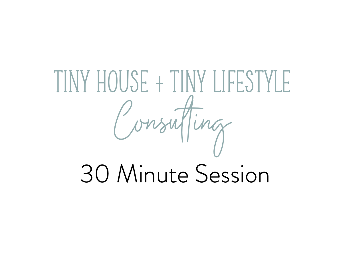 30 Minute Tiny4Life Consulting