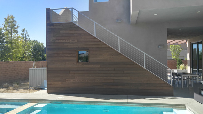 Pool Accent Wall