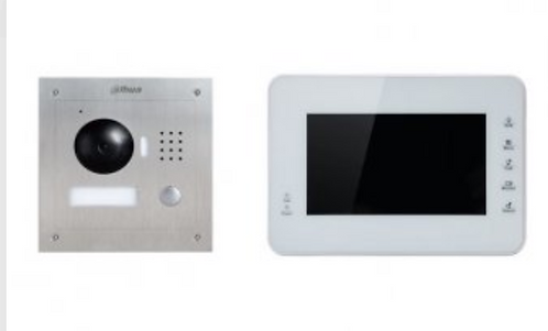 (Dahua) – IP Intercom Kit (VTO2000A) + Surface Mount (VTH1560BW)