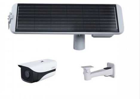 (Dahua) – Solar Monitoring Kit (Includes 4G Camera + Solar Panel)