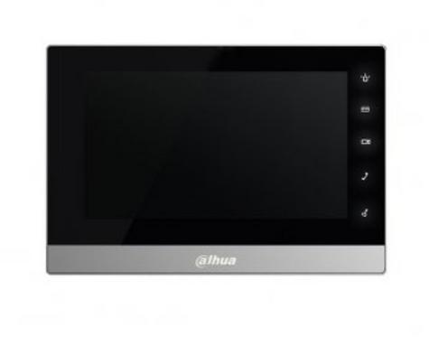 (Dahua) – IP 7″ TFT Touch Screen Indoor Monitor (Black)