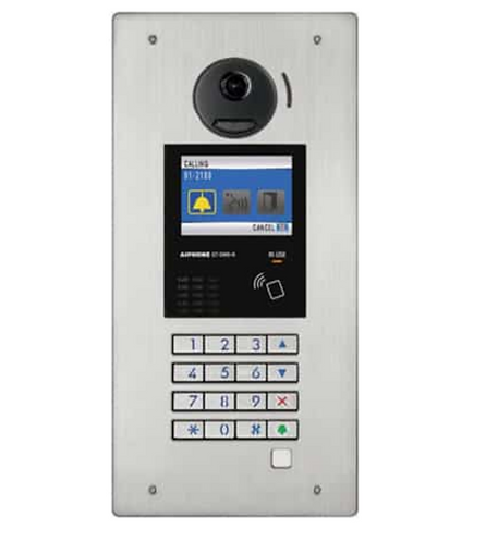(Aiphone) – Stainless Steel Video Door Station With NFC Reader (GTDMB-N)