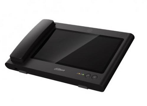 (Dahua) – IP 10.2″ Touch Screen Desk Master Station (Black)