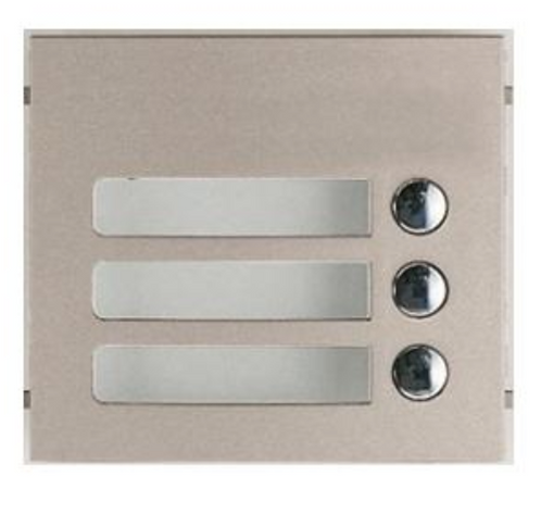 (Aiphone) – 3-Residence Call Plate