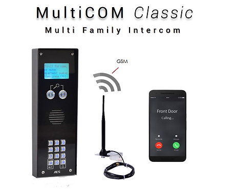 (AES) MultiCOM Classic Family Intercom