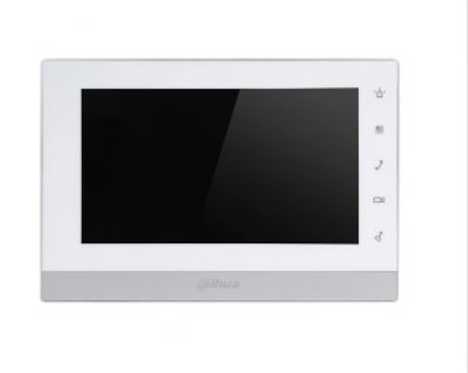 (Dahua) – 2-Wire 7″ TFT Touch Screen Indoor Monitor (White)