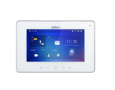(Dahua) – IP Wi-Fi 7″ TFT Touch Screen Indoor Monitor (White)
