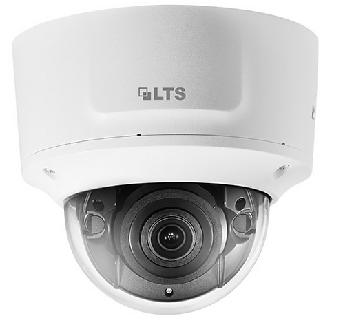 (LTS) – 6MP PoE Vandal-proof Motorized Dome Camera (2.8 ~ 12 mm)