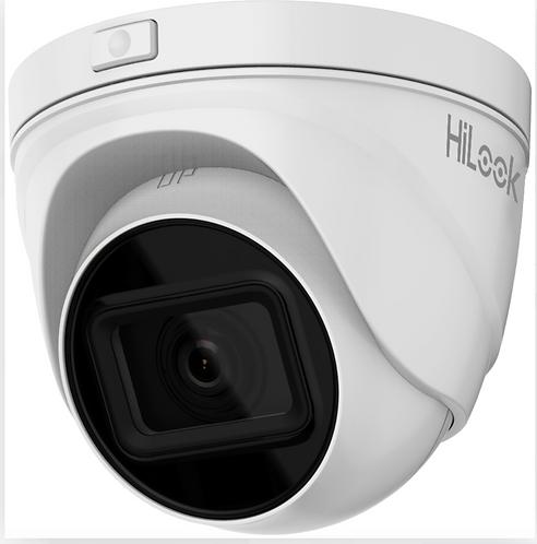 (HiLook) – 4MP TVI Turret Vari-Focal Dome Camera (8 ~ 12 mm)