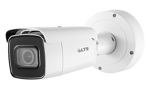 (LTS) – 8MP PoE Motorized Bullet Camera (2.8 ~ 12 mm)