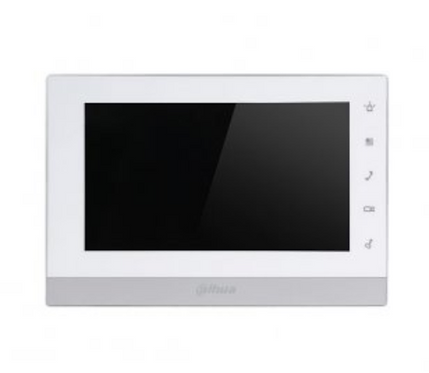 (Dahua) – IP 7″ TFT Touch Screen Indoor Monitor (White)
