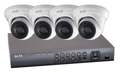 (LTS) – 4CH IP CCTV Kit – 6MP