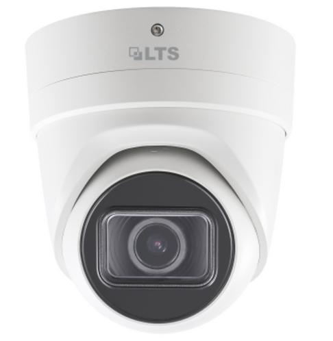 (LTS) – 8MP PoE Motorized Turret Dome Camera (2.8 ~ 12 mm)